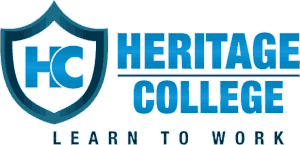 Heritage College mobile logo