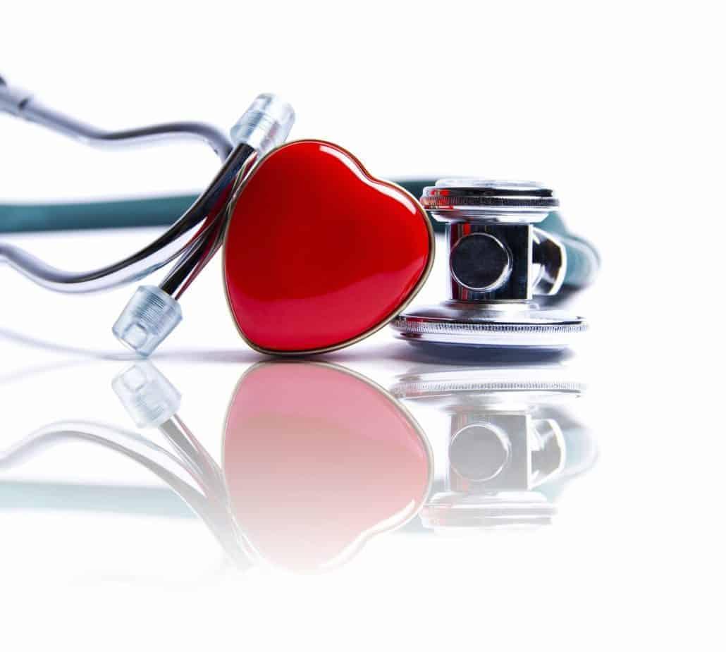 Heart health month illustration