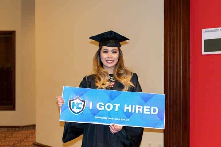Heritage College career services gets you the career of your dreams
