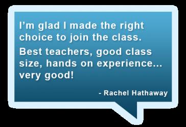 Rachael's Testimonial